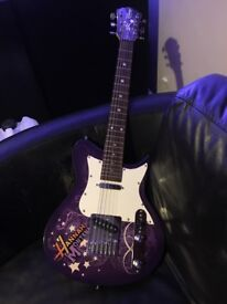 Washburn Hannah Montana electric guitar by Disney 3/4 scale - collection only