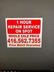 ONE DAY SPECIAL $39.99 ALL IPHONE SCREEN REPAIR
