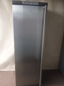 AEG silver grey tall freezer(delivery available)