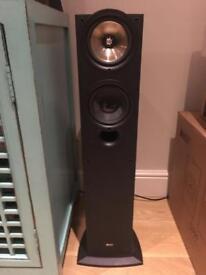 Pair of KEF iQ50 floorstanding speakers