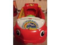 Fisher price laugh and learn go crawl car