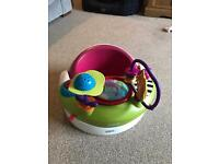 Mamas & Papas Snug Baby Seat with Play Tray