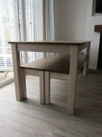 Dining /Kitchen Table and Bench Set