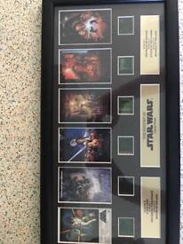 Star Wars original film cell