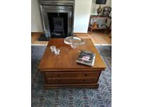 Forrest Furniture Coffee Table and Cabinets