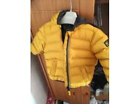 Boys Next 3-6 months yellow Puffer Coat