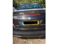 PEUGEOT 207 CC CONVERTIBLE 1.6 PETROL 2009 BREAKING FOR PARTS SPARES AND REPAIRS