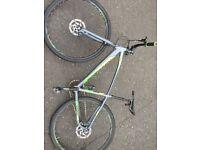 saracen hybrid road bike