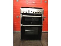 Indesit gas cooker Id60G2X 60cm S/S FSD double oven 3 months warranty free local delivery!!!!!