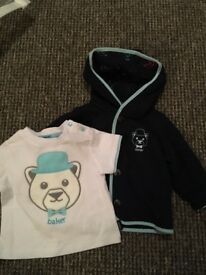 Ted Baker Jacket & T-Shirt 0-3 months