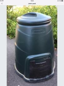 New compose Bin 220 litres in green can diliver locally