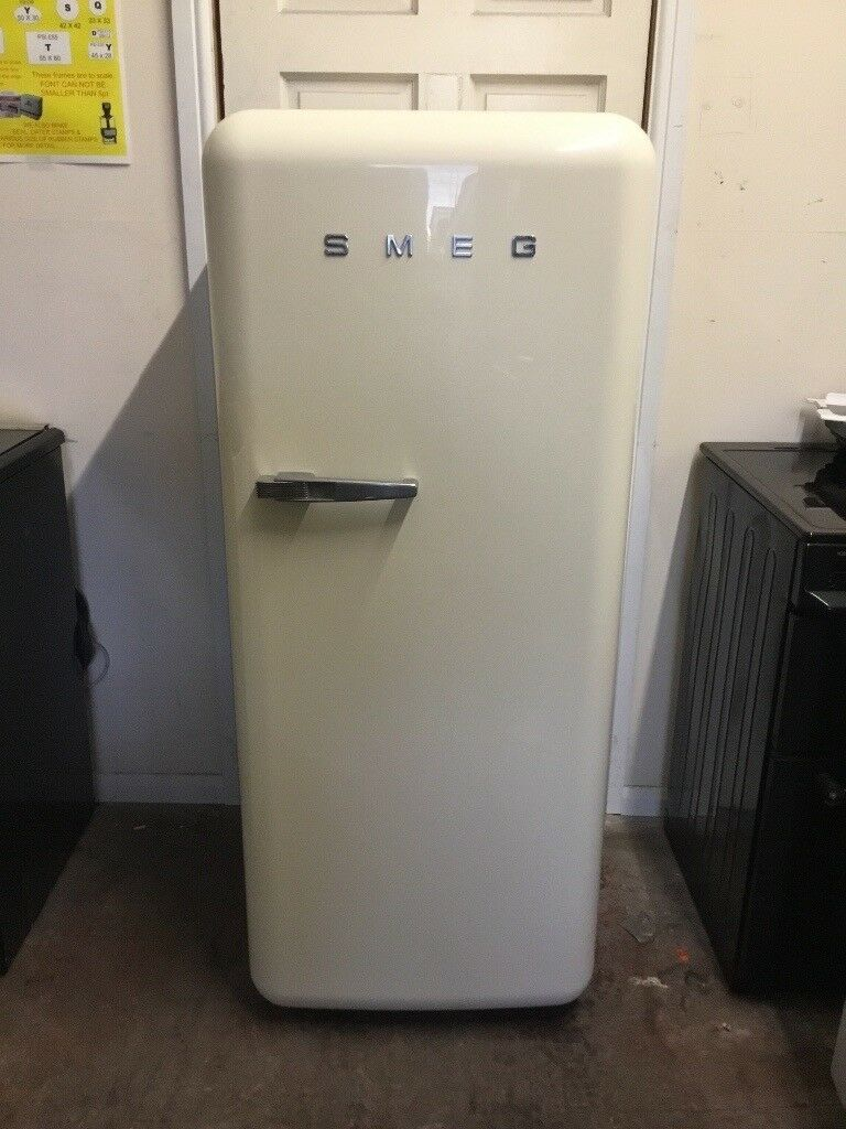 Smeg fridge freezer with ice box 3 months warranty free local delivery!!!!!!!!!