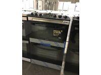 Zanussi ZCV48300XA Electric Cooker, Stainless Steel