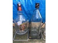 Empty big bottles