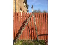 Ladder. Solid, heavy duty. Double in height