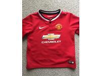 Manchester United shirt 3-4 years