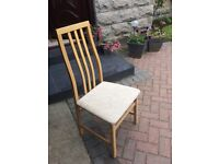 Tapley dining table and 6 chairs