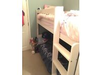Kids wooden bunk bed (splits to two singles)