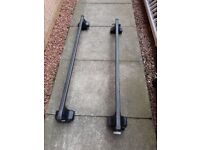 Thule 754/480 Rapid Fit Roof Bars with square bars. Maximum load 75kg.