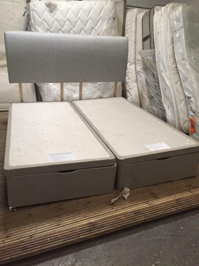 Fine Super King Size Ottoman Bed Base With Headboard In Didsbury Manchester Gumtree Andrewgaddart Wooden Chair Designs For Living Room Andrewgaddartcom