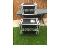 2 x Band / Stage / DJ Flight cases