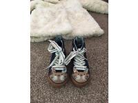 Size 5 next shoes & 2 fur coats gosforth