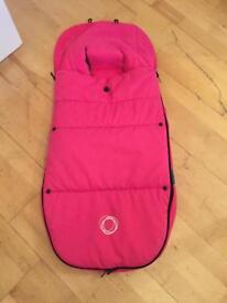 Bugaboo pink footmuff in VGC £30