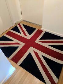 Union Jack Rug 120x170cm £20 ONO
