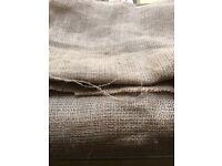 Hessian Fabric 180cm wide x 5 meters length