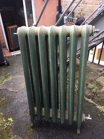 4 Radiators OLD SCHOOL old skool Victorian Traditional cast iron radiators in 3 sizes
