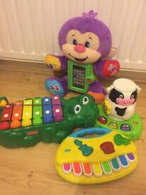 Fisher Price, VTech, Grow & play toys