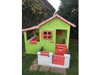 SMOBY garden playhouse