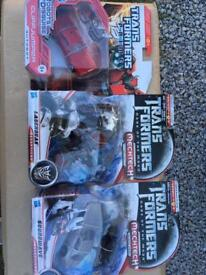 Transformer collection all boxed and unopened rare