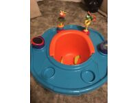 Like new baby booster seat for feeding