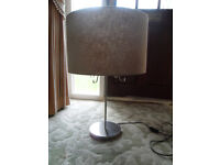 NEW LARGE TABLE LAMP WITH SHADE + MATCHING CEILING SHADE