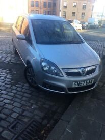vauxhall zafira For sell 57 plate