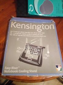 Kensington Laptop and notebook cooling pad. Very good design. Compact and easy to carry along