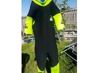 Gul short sleeve 5mm wetsuit