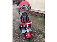 Little Tykes Deluxe 5 in 1 red trike