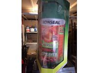 RONSEAL FENCE & SHED SPRAYER NEW
