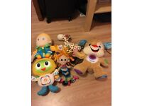 bundle of baby toys including fisher price little tikes and many more