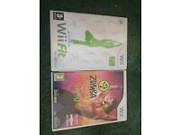 Wii Fit and Wii Zumba
