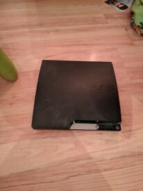 Playstation 3 Slim 320GB, Official Firmware 4.81 + 6 Games including GTA5