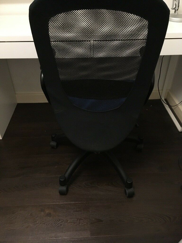 Desk Chair Ikea Flintan Nominell Blue In Cambridge