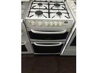 White cannon 55cm gas cooker grill & oven good condition with guarantee bargain