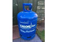 Gas Bottle Cylinder - Empty - 15kg Calor Butane