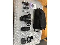 Canon 600D plus Accessories