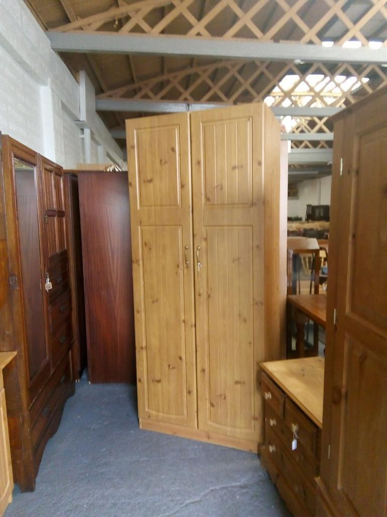 ** PINE WARDROBES - 2 available **