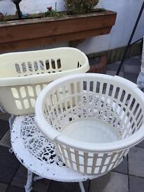 Washing baskets plastic