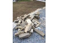 Natural Yorkshire Stone Blocks